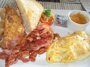 Big Breakfast at the Pavilion Restaurant