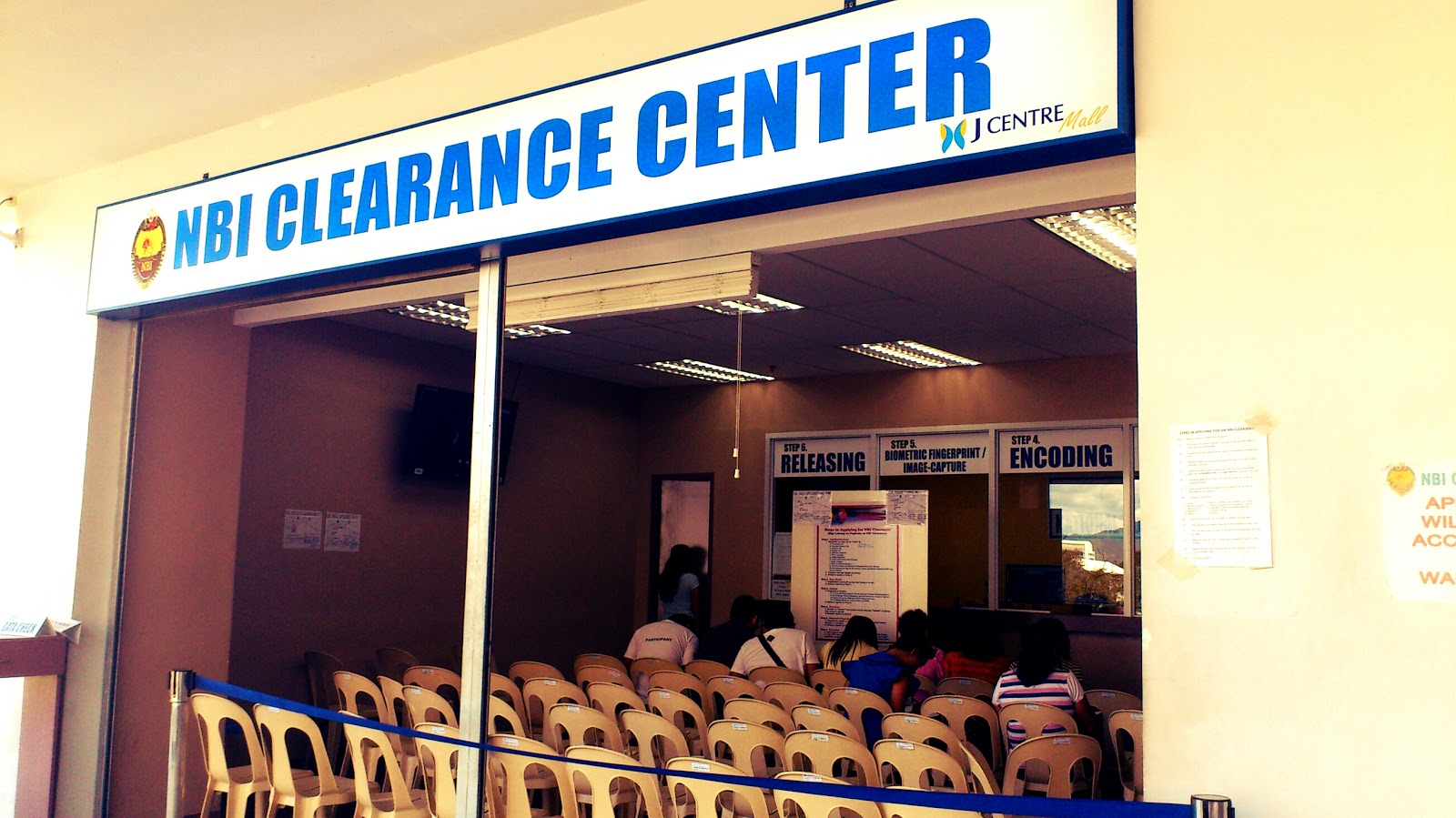 Getting an NBI Clearance at J Centre Mall on a Saturday