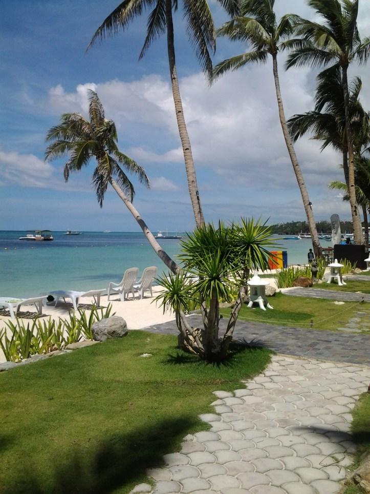 Boracay Gem's beach front