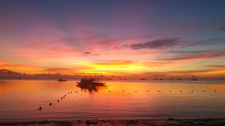 Sunrise in Boracay