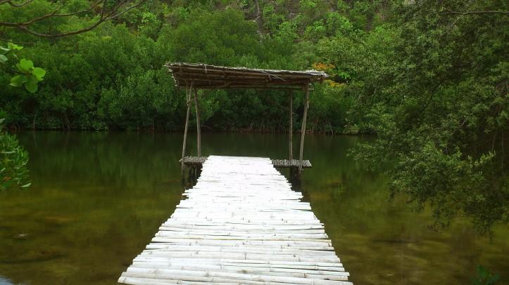 Lagoon in Sumilon island