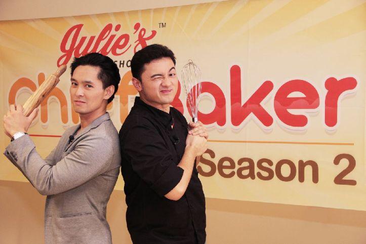 Karlo Lim and Chef Jed Gajudo