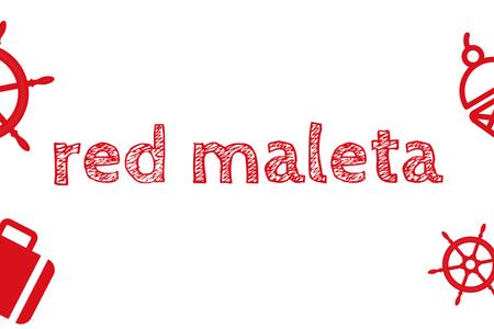 red maleta