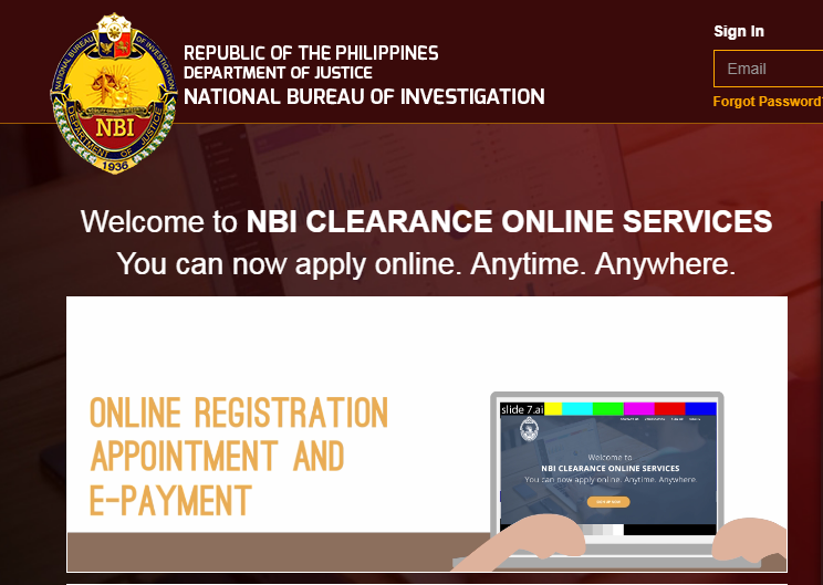 How to get an NBI Clearance at Island Central Mall – red maleta